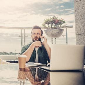 Mit dem Cloud Arbeitsplatz arbeiten von wo Sie wollen