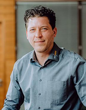 Kevin Fleischmann vom IT Service Köln