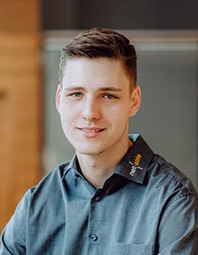 Leon Zirpel vom IT Service Köln