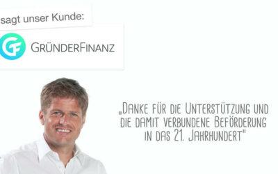 Kundenstimme GründerFinanz