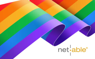 Für net|able ist happy pride nicht nur im Juni